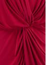 MISA Los Angeles Teget Bell Long Sleeve Twist Dress - Red