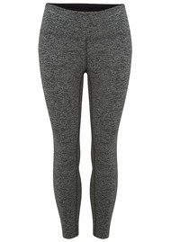 KORAL Mystic Capri Legging - Heather Grey & Black