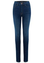 J Brand Cameron Corset High Rise Skinny Jeans - Exposed