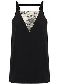 COOPER AND ELLA Stella Lace Tank - Black