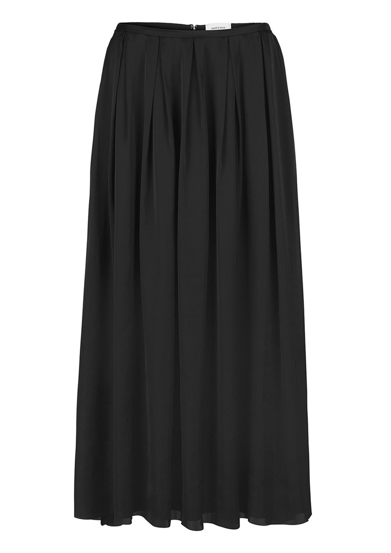 SAMSOE & SAMSOE Nuit Skirt - Black main image