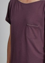 Great Plains In the Mix Patch Pocket Tee - Elderberry