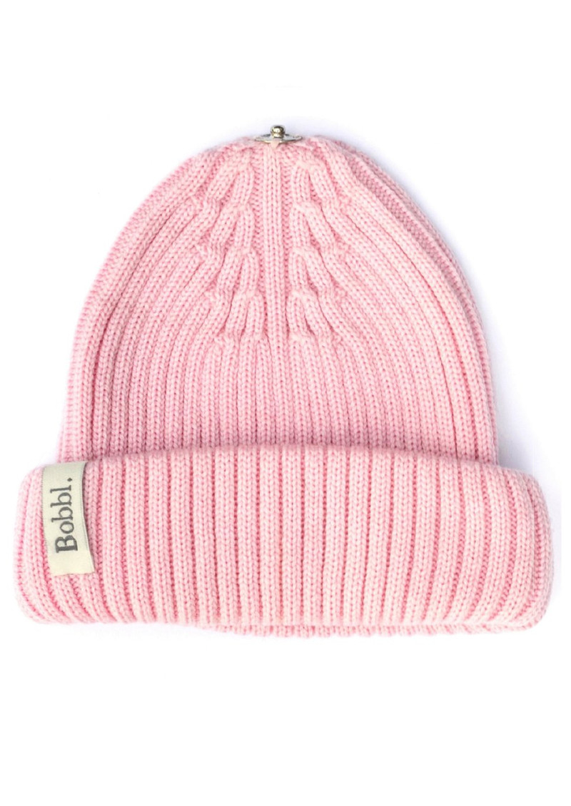 BOBBL Bobbl Knitted Hat - Pale Pink main image