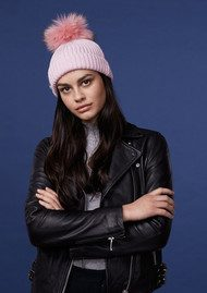BOBBL Bobbl Knitted Hat - Pale Pink
