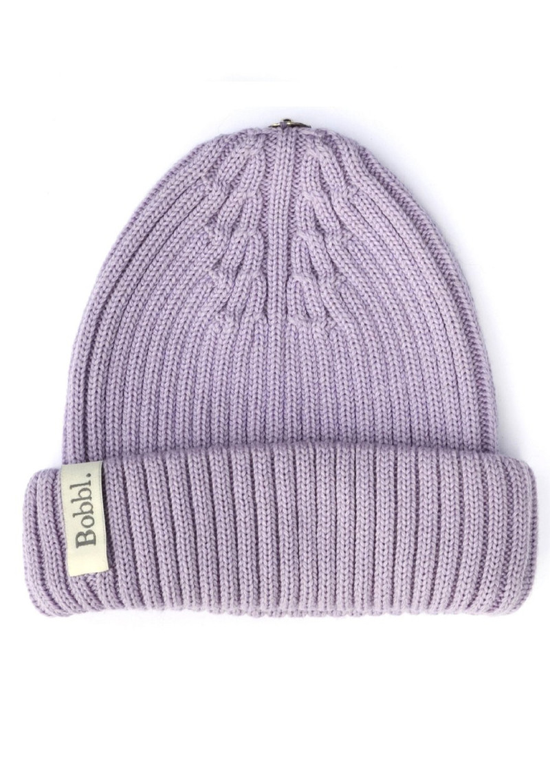 BOBBL Bobbl Knitted Hat - Lilac main image