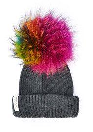 BOBBL Big Fur Bobbl - Multicoloured