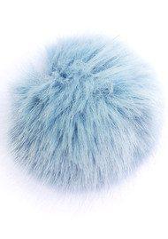 BOBBL Faux Fur Small Bobbl - Baby Blue