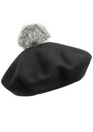 BOBBL Beret Hat - Black