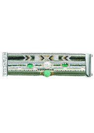 HIPANEMA Hampton Bracelet - Black, Turquoise & Silver