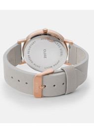 CLUSE La Roche Rose Gold Watch - Black & Grey