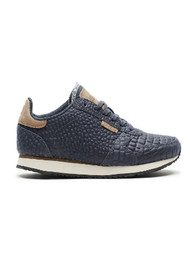 WODEN Ydun Croco Trainers - Navy