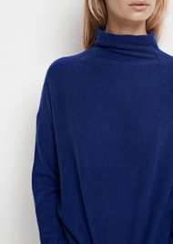 SAMSOE & SAMSOE Charlize Turtle Neck Cashmere Jumper - Estate Blue
