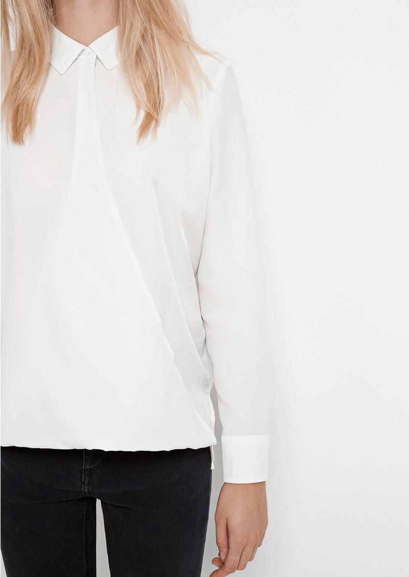 SAMSOE & SAMSOE Emilia Shirt - Clear Cream main image