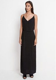 SAMSOE & SAMSOE Ginni Long Dress - Black