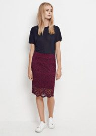 SAMSOE & SAMSOE Alia Skirt - Dark Purple