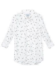 Rails Rocsi Shirt - Feathers