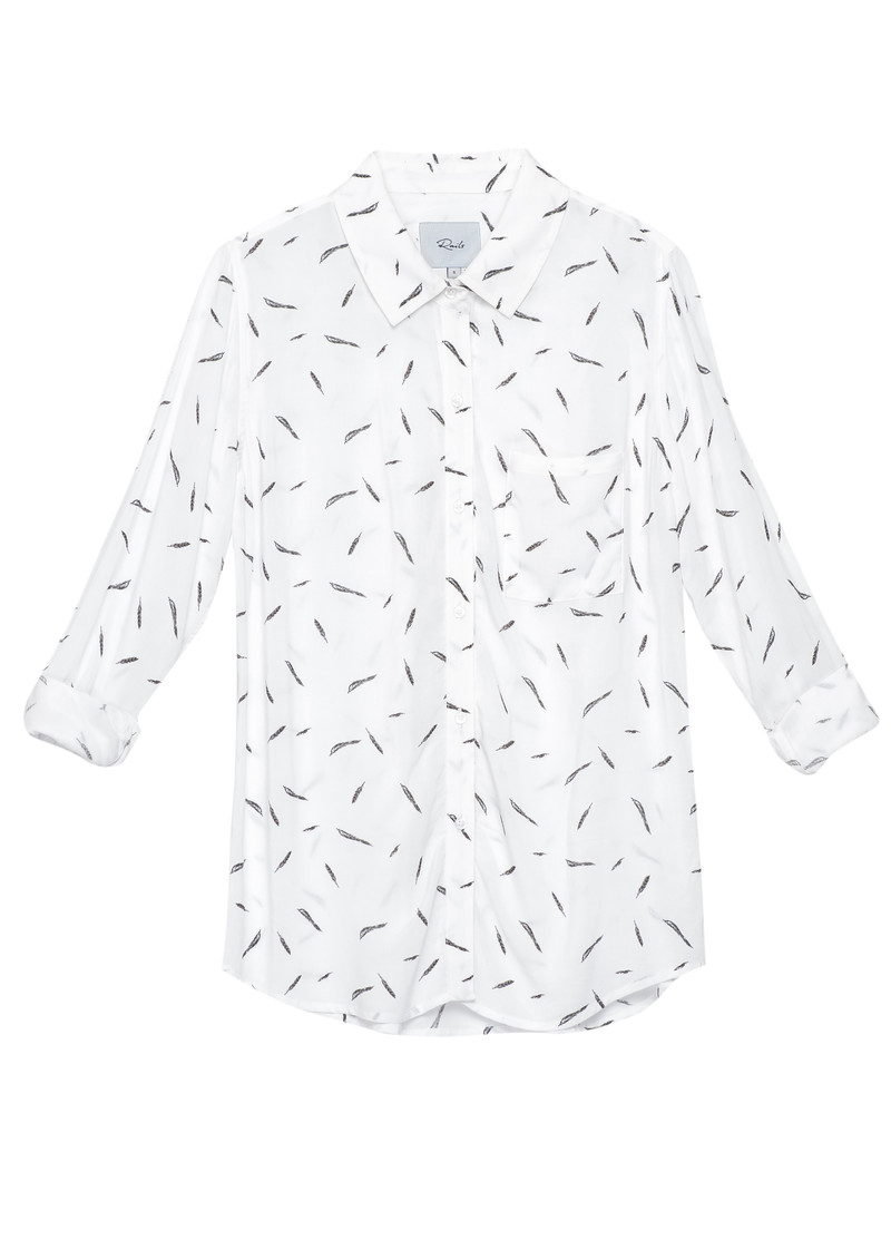 Rails Rocsi Shirt - Feathers main image