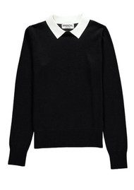 Essentiel Nagoya Collared Sweater - Black