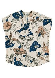 Essentiel New Guinea Floral Top - Off White