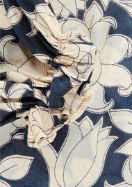 Essentiel Nobody Floral Blouse - Cobalt Blue