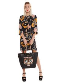 Essentiel Nouette Floral Dress - Black