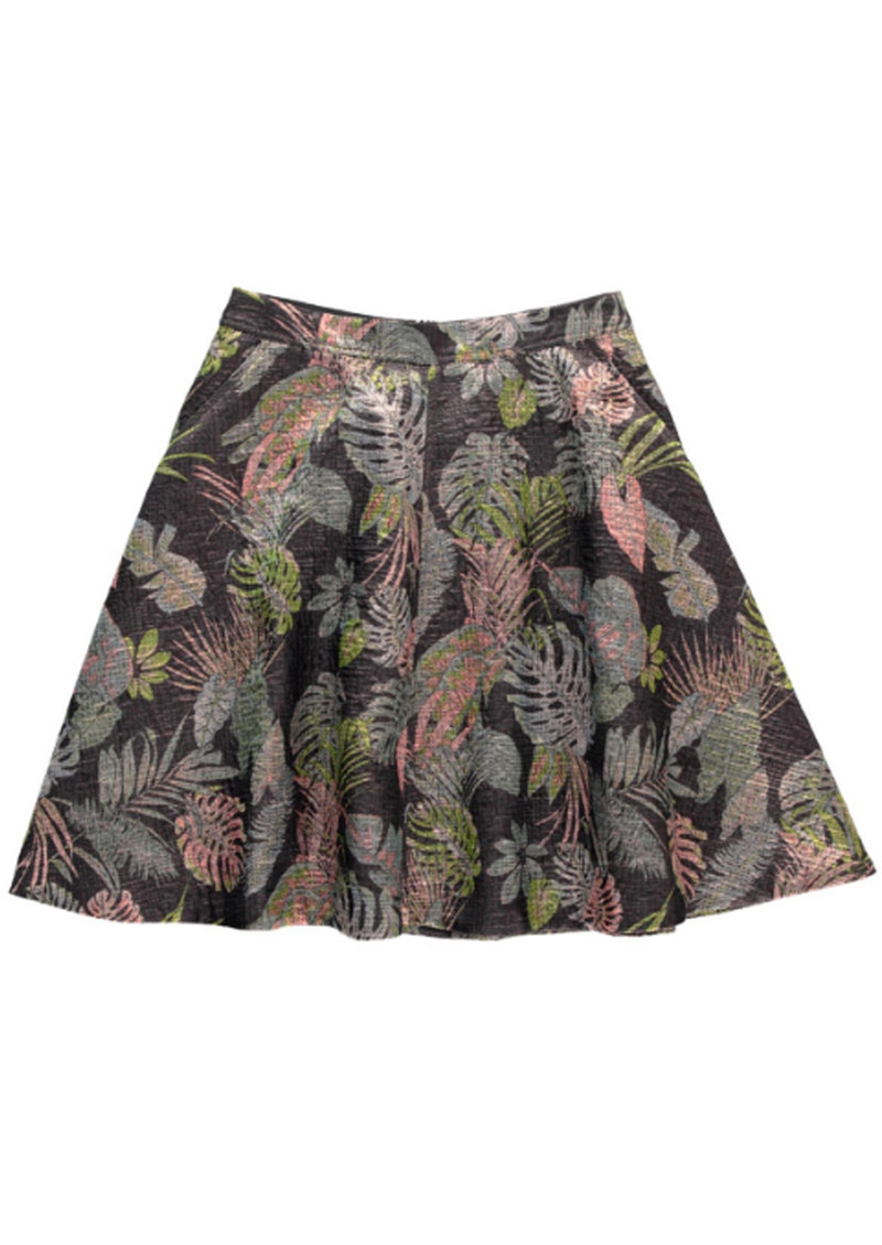 Essentiel Nay Brocade Skirt - Black main image