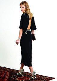 RIXO London Louise Moon & Stars Dress - Black
