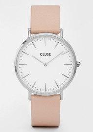 CLUSE La Boheme Watch - White & Nude