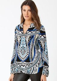 Hale Bob Sonata Beaded Blouse - Black