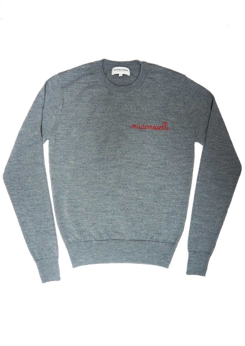 MAISON LABICHE Mademoiselle Sweater - Grey main image