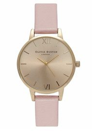 Olivia Burton Midi Dial Watch - Dusty Pink & Gold