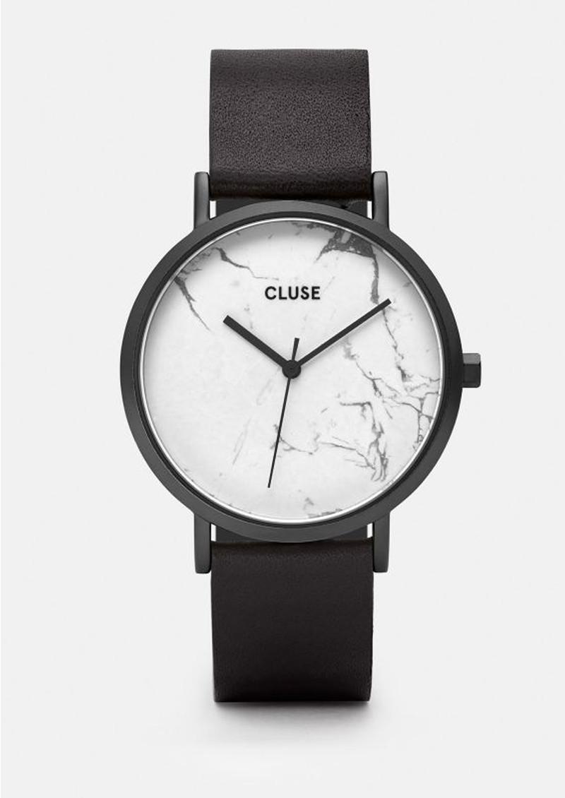 CLUSE La Roche Black Watch - White & Black main image