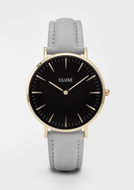 CLUSE La Boheme Gold Watch - Black & Grey