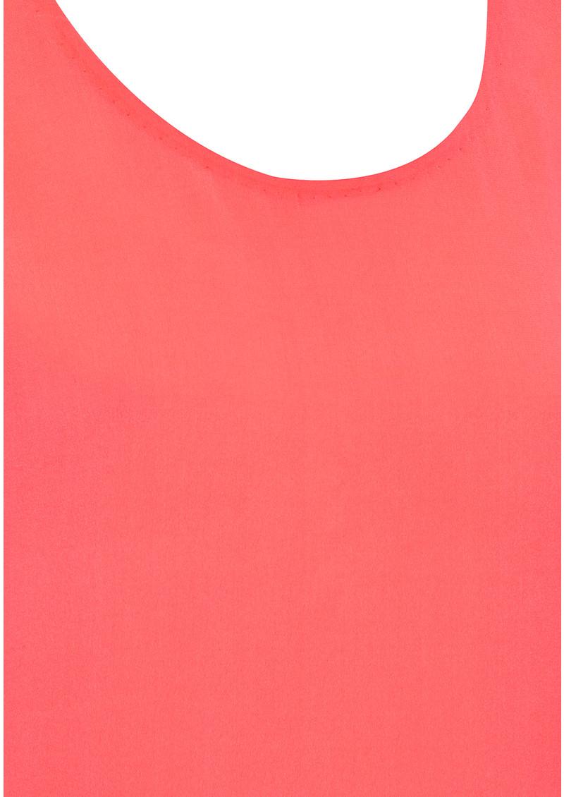 Mercy Delta Blair Top - Neon Coral main image