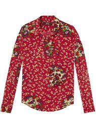 Maison Scotch Long Sleeve Shirt - Oriental Flower Print
