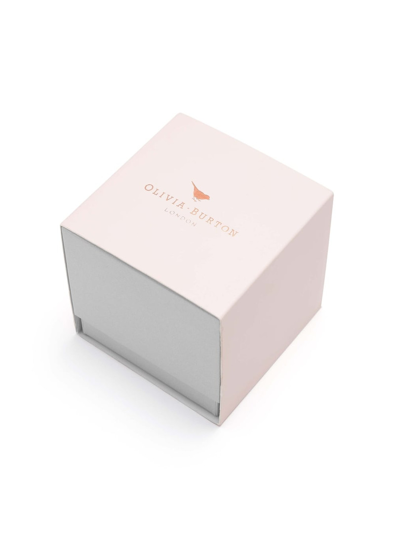 Olivia Burton Moulded Bee Watch - Nude Peach & Rose Gold main image