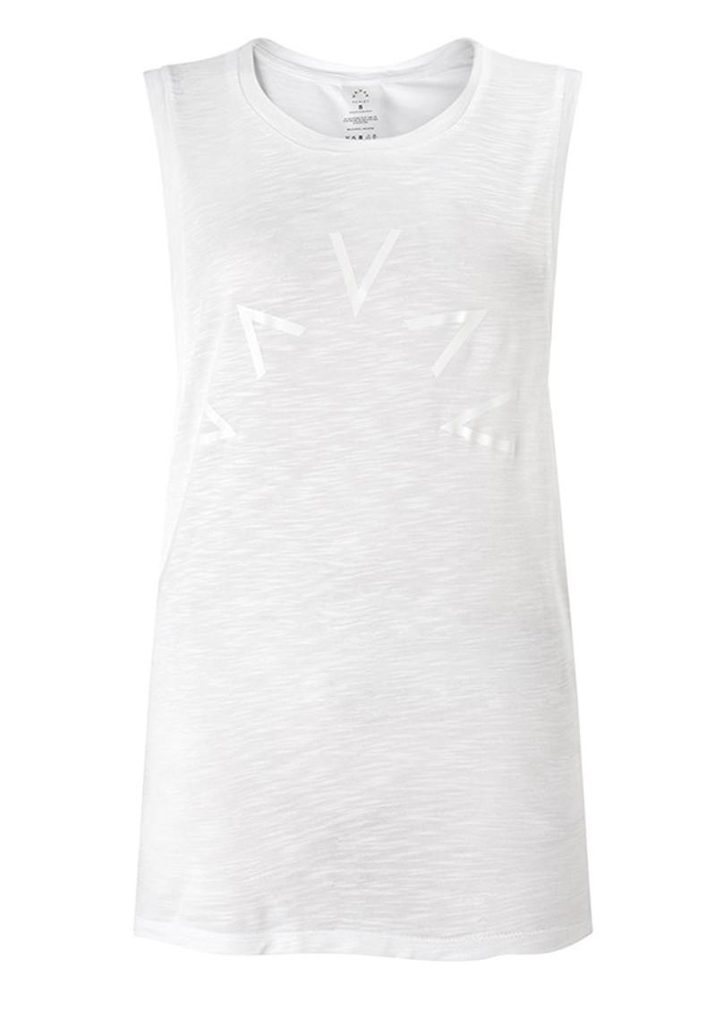 VARLEY Lakeview Sleeveless T-Shirt - White main image
