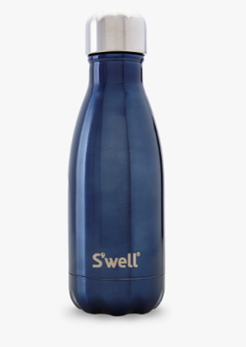 SWELL The Shimmer Water Bottle 9oz - Blue Suede main image