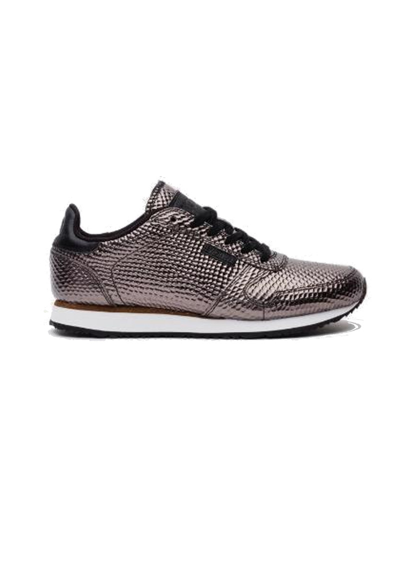 Ydun Metallic Trainers - Gunmetal main image