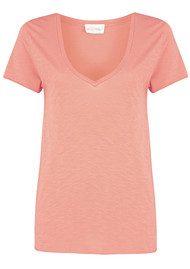 American Vintage Jacksonville Short Sleeve T-Shirt - Rose