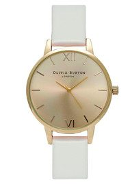 Olivia Burton Midi Dial Watch - Blush & Gold