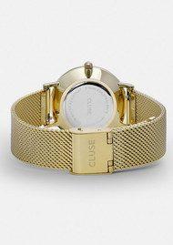 CLUSE Minuit Mesh Watch - Gold & Black