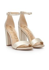 Sam Edelman Yaro Heel - Gold Metallic