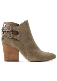 Hudson London Minka Suede Boot - Taupe