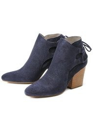 Hudson London Minka Suede Boot - Navy