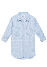 Rails Carter Shirt - Watercolour Grid