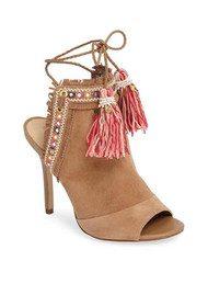 Sam Edelman Artie 2 Heel - Caramel & Pink