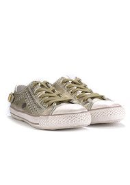 Ash Virgo Trainers - Gold