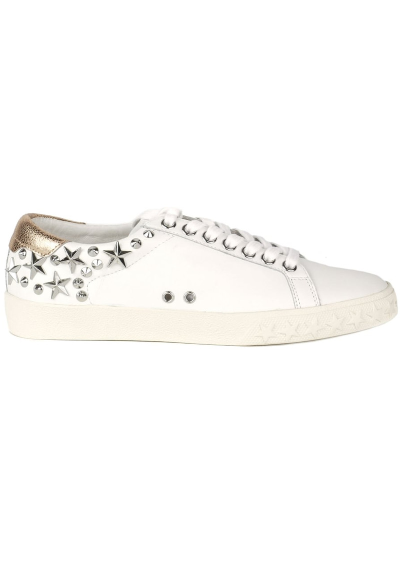 Ash Dazed Studded Trainers - White