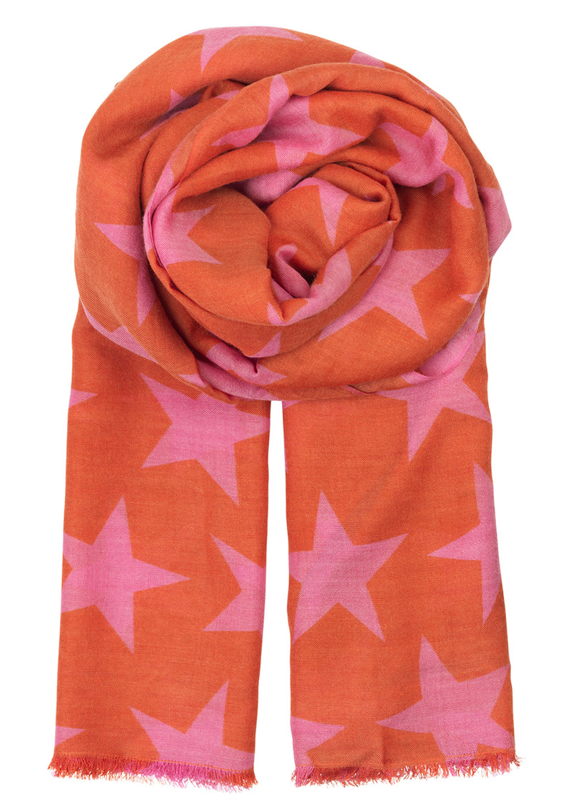 Supersize Nova Scarf - Flamingo main image